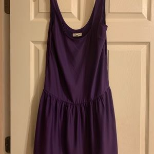 Purple silence + noise dress from urban outfitters